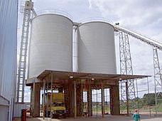 Silos de Armazenagem para Biomassa