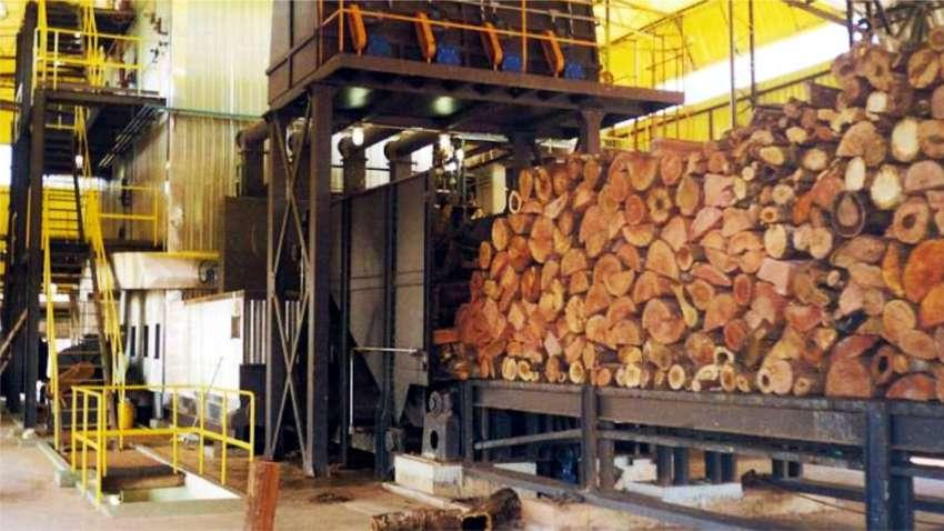 Logs automated feeding for furnaces and boilers
