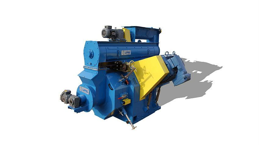 Machines for the production of biomass pellets.