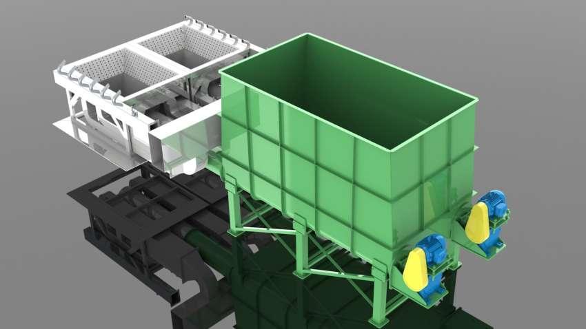 Fornalhas especialmente projetadas para geração de energia pela queima de briquetes de biomassa.