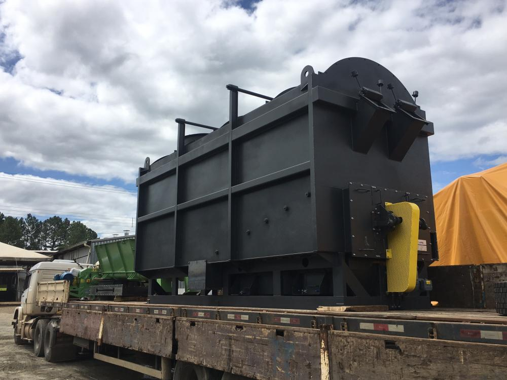 Carregamento de Queimador para uso na indústria de fertilizantes
