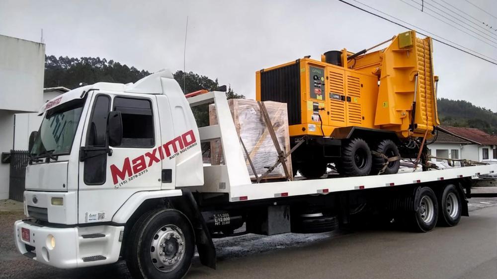 Chipeadora Forestal entregado a la empresa fabricante de envases para exportación y reforestación