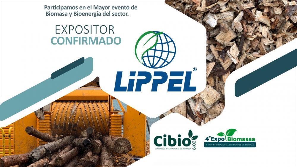 Confirmada la presencia de Lippel en la Expobiomassa 2019