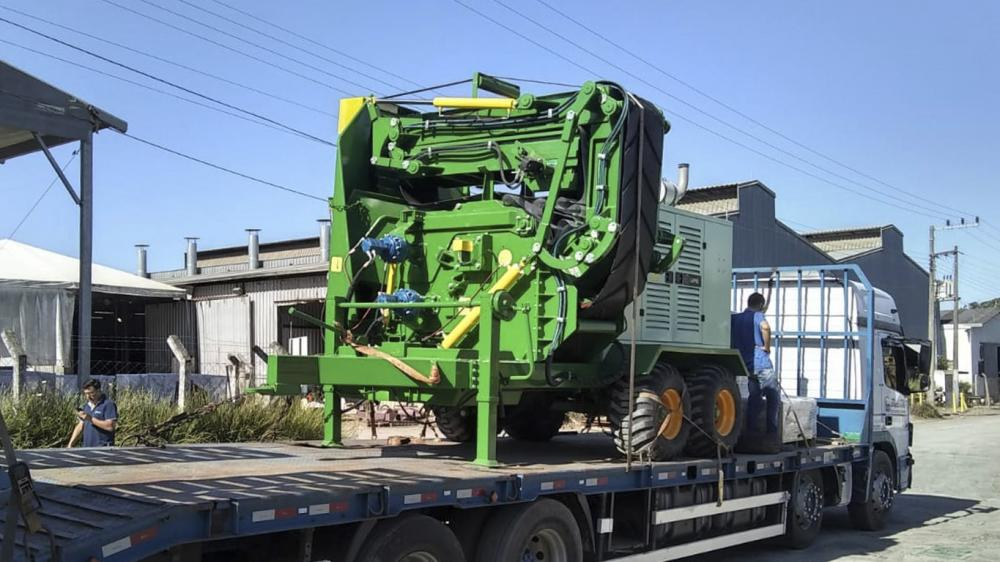 Forestry Chipper delivered to a client in Minas Gerais - Brazil