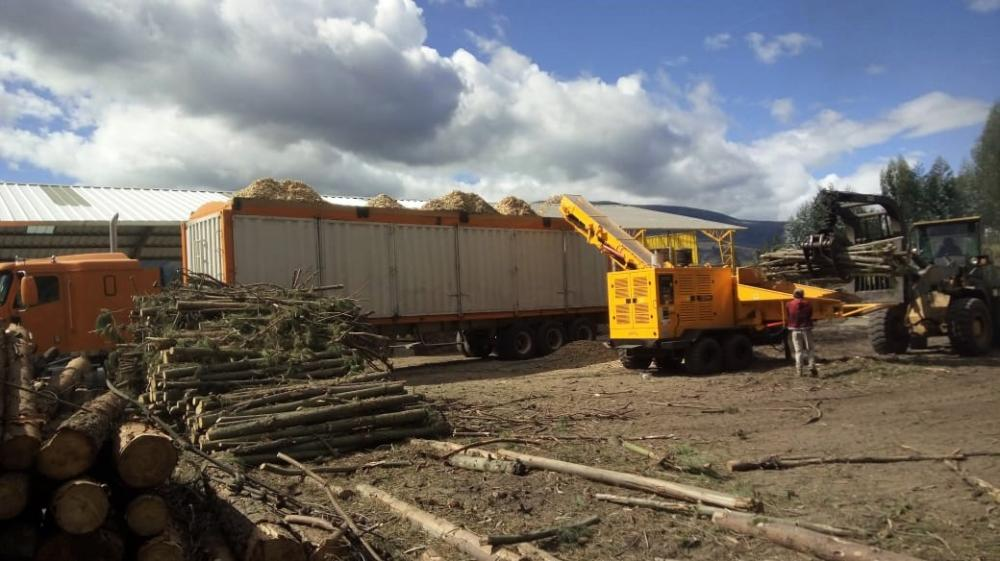 Forestry Chipper delivered to sawmill company in Panama
