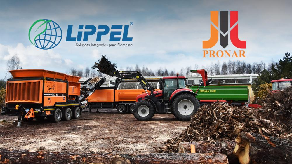 Lippel deal partnership with Pronar - Polish recycling equipment company
