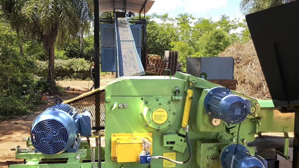 Lippel delivers and installs Stationary Wood Chipper in Paraguay