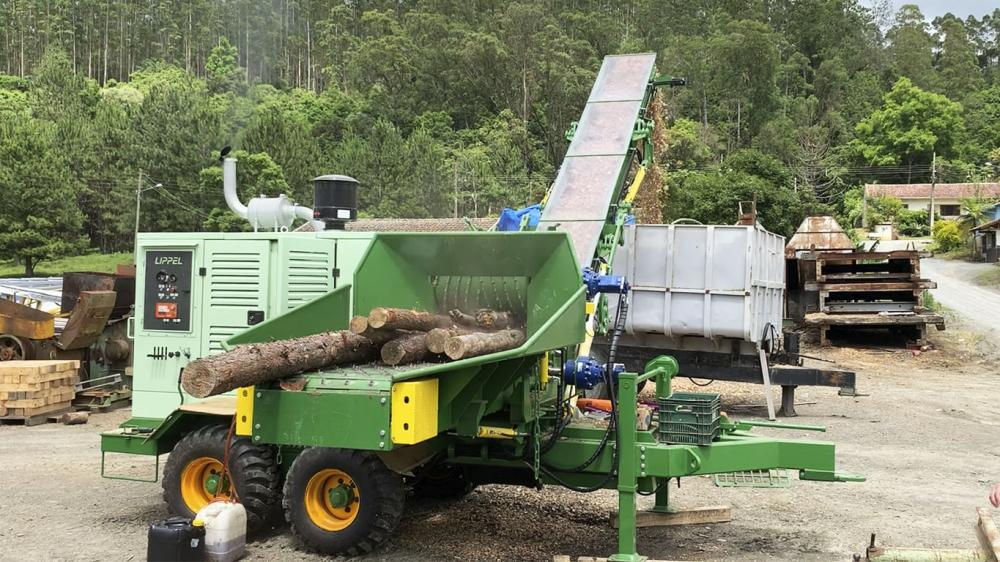 Lippel Forestry Chippers with global presence