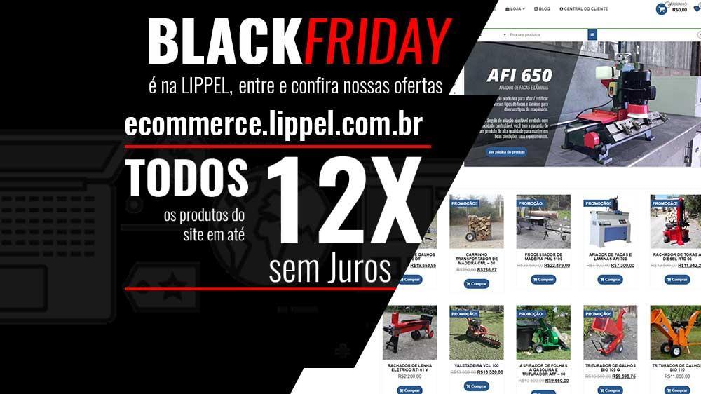 Nueva Tienda virtual de Lippel en el Black Friday