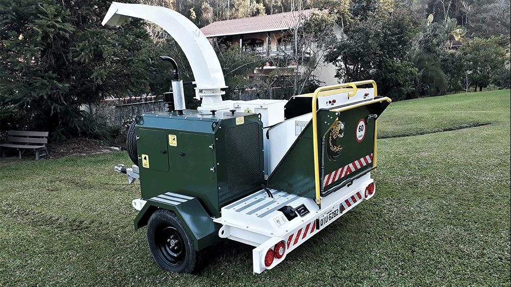 Nuevo Chipeador Lippel PDU 260 D – Para reaprovechamiento de residuos de árboles