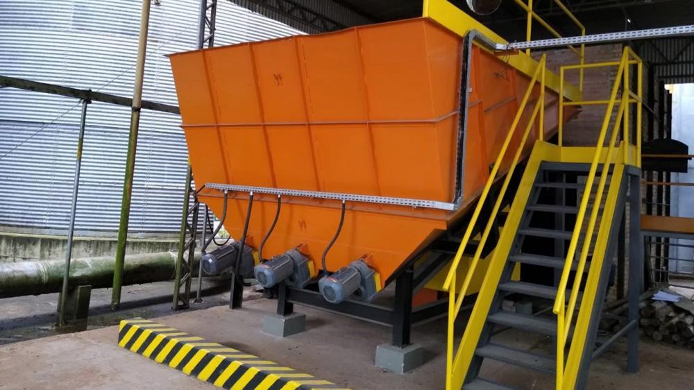 Sistema de maior eficiência e economia para a substituição da lenha na secagem de grãos