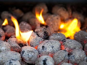 Aprenda a maneira correta de fazer fogo com briquete de carvão