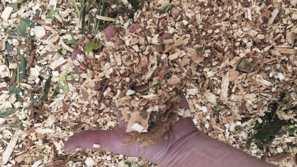 Brush chipper model PTU 400 delivered for urban pruning