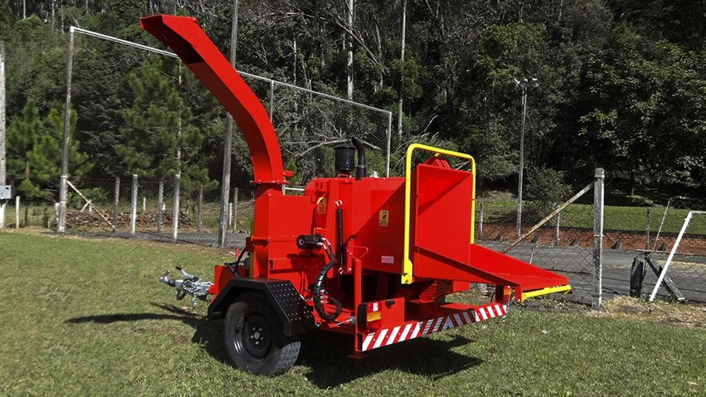 City of Itapui – SP acquires a Lippel Wood Chipper