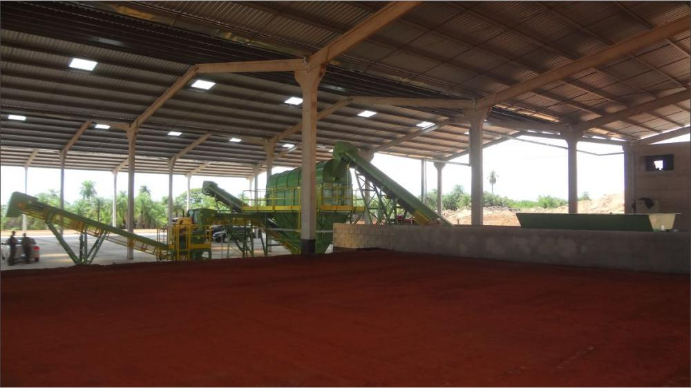 Delivery of a Composting Plant in the state of São Paulo