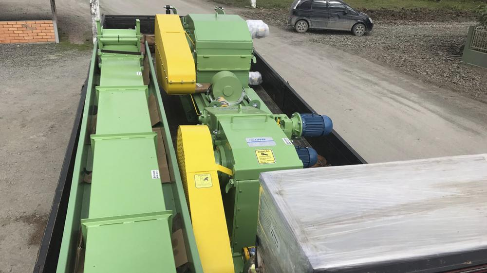 Delivery of Stationary Chippers to Paraguay