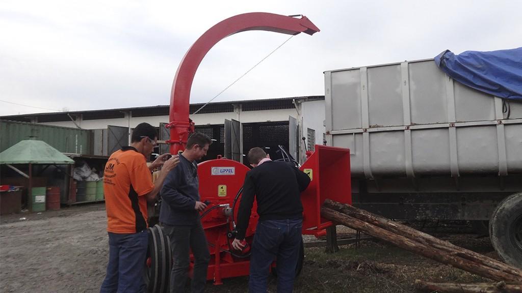Entrega técnica direto na fábrica da Lippel