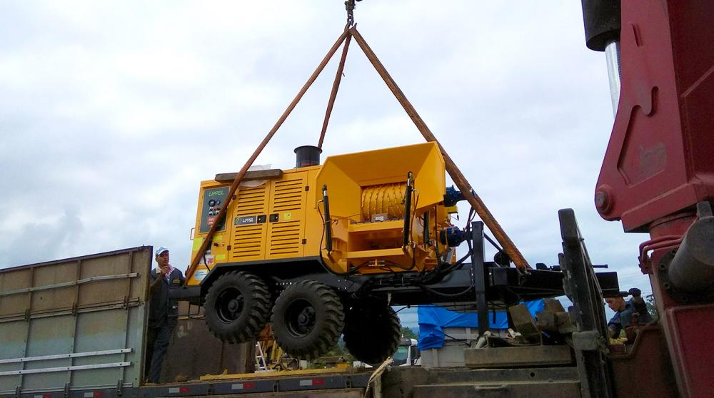 Exportation of Forestry Chipper to dairy company in Paraguay