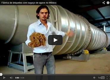 Fábrica de briquetes a partir da fibra de agave (Tequila)
