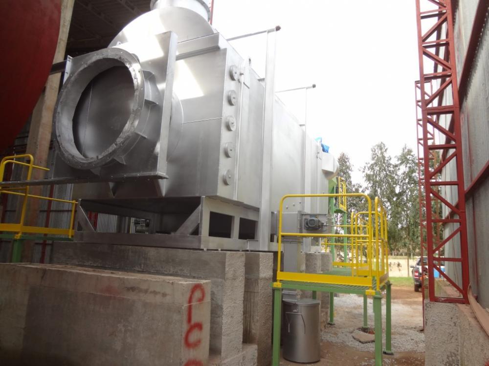 Finalización de la instalación del QPL 40 em usina de fertilizantes.