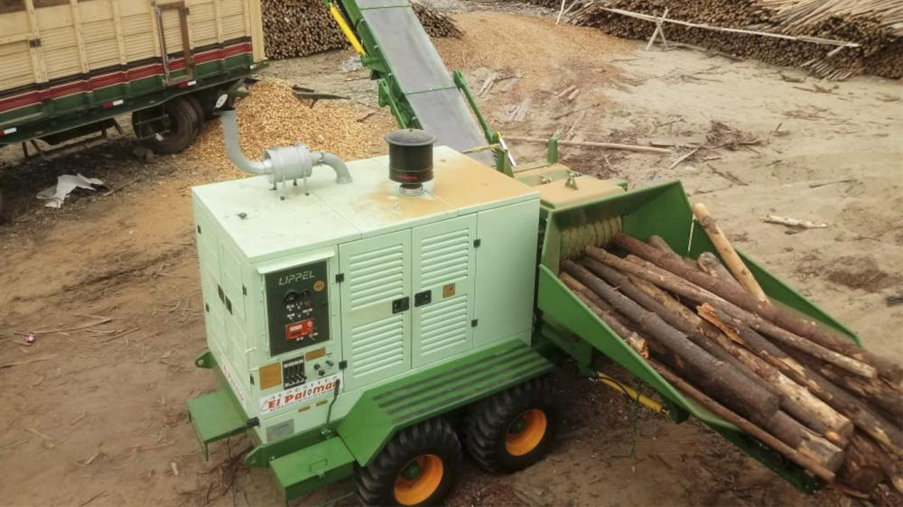 Forestry Chipper exported to Peru