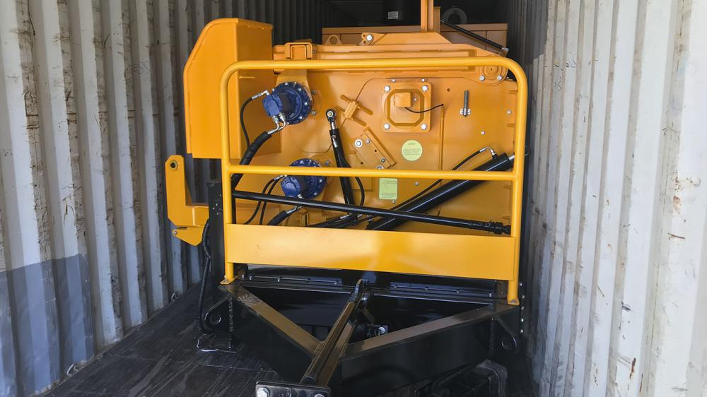 Forestry Wood Chipper PFL 500x900 MC uploaded to Dominican Republic