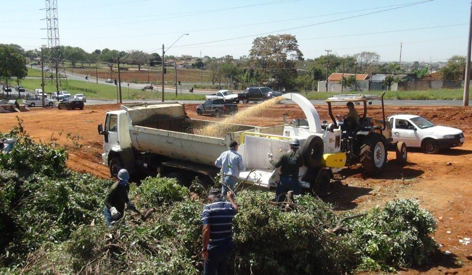 Inversión en trituración para limpieza urbana en San pablo
