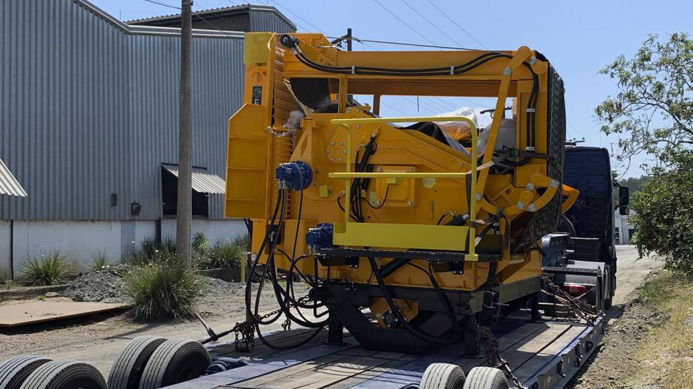 Linha completa de equipamentos para produção de biomassa
