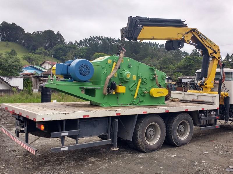 Lippel ampliando suas fronteiras,  exporta  para  Honduras picadores e equipamentos para biomassa.