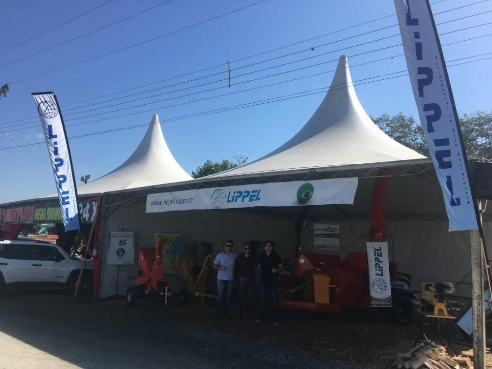 Lippel participates in the XXIX Harvest Festival of the municipality of Agrolândia.