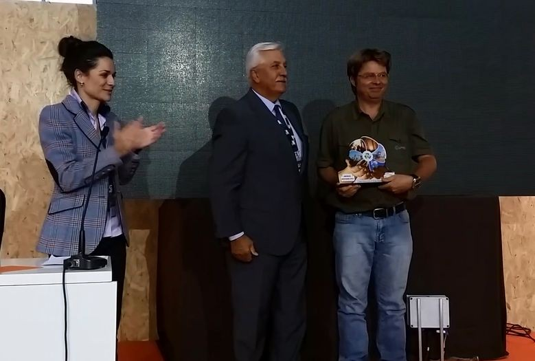 Lippel recebe Prêmio Internacional em Energia Renovável na Europa