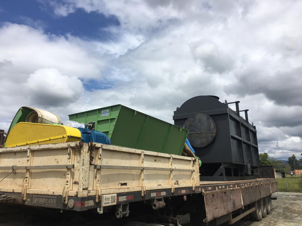 Loading of Burner for use in the fertilizer industry