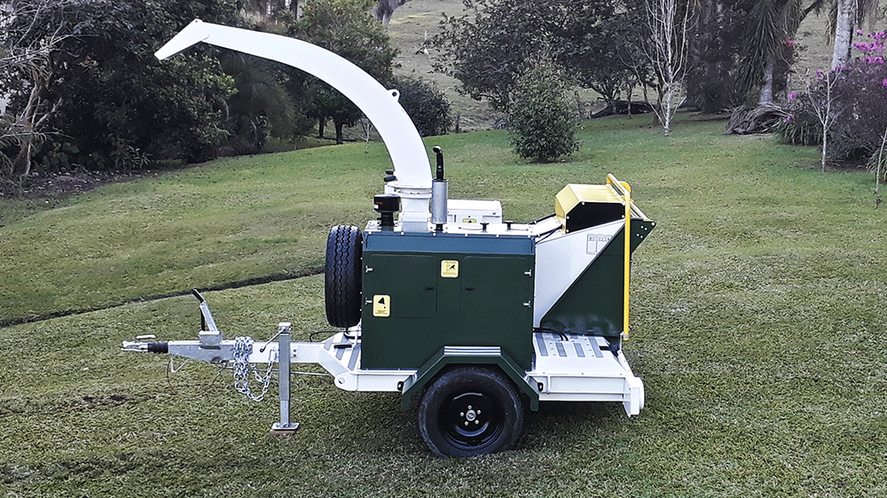 Novo picador Lippel PDU 260 D - Para reaproveitamento de resíduos de árvores