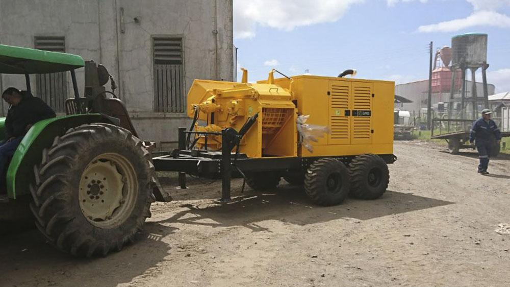 Nuevo equipo entregado al cliente en Chile