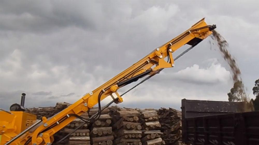 Picador Florestal adquirido para produção de cavacos destinado à indústria