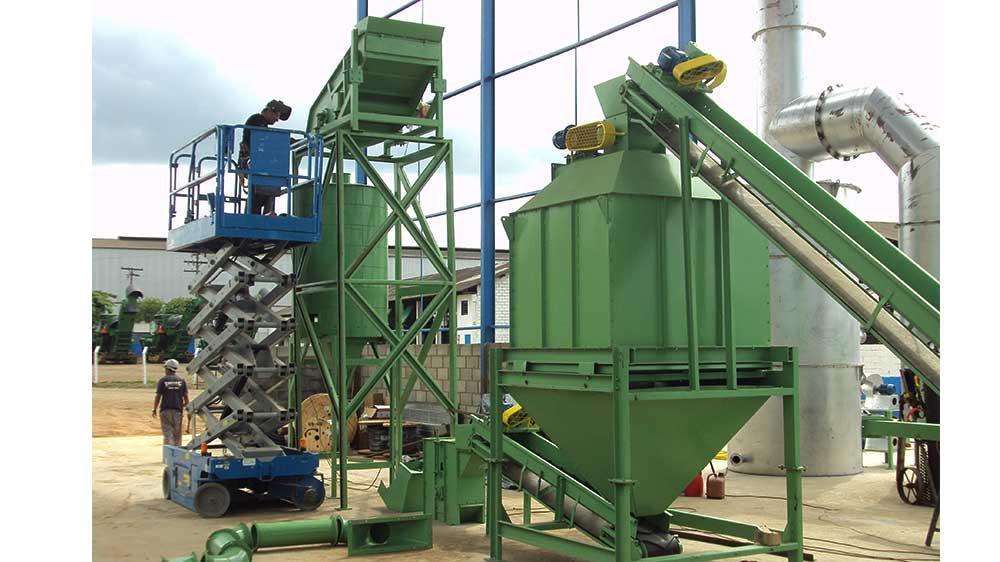 Produção de biocombustíveis – Pellets