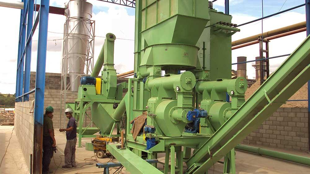 Producción de biocombustible – Pellets