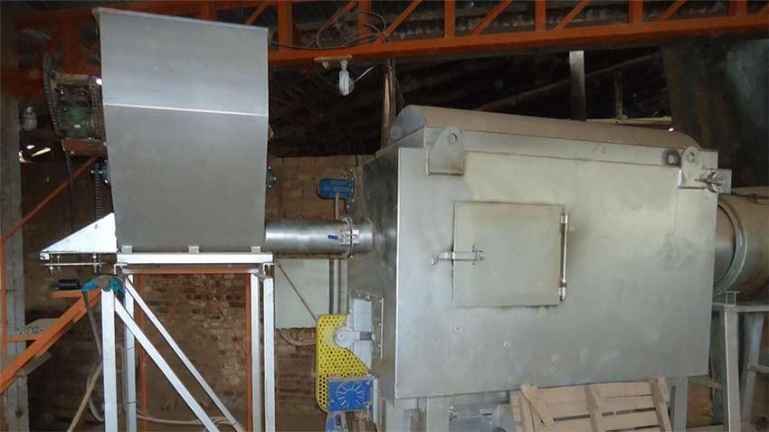 Queimador Pirolítico reduz em 30% o consumo de  combustível em uma cerâmica