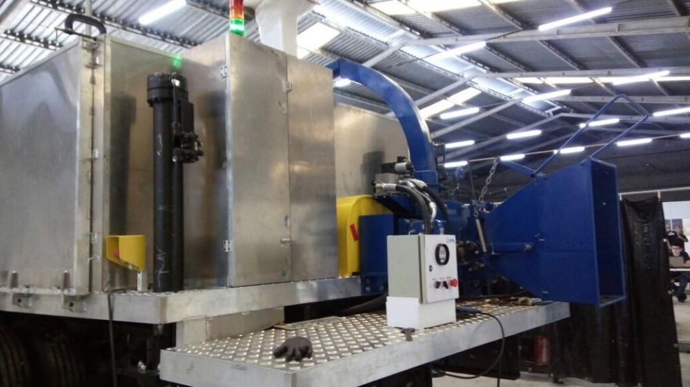 Soluções em picadores / trituradores de montagem especial para áreas urbanas