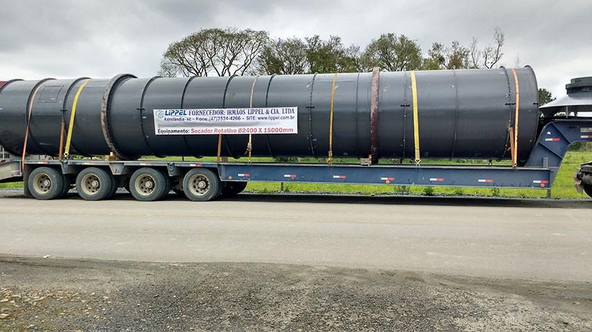 Usina de Secagem de Biomassa projetada e desenvolvido para um cliente na Argentina