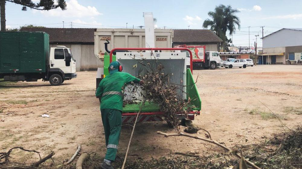 Wood Chipper delivered to service providers in the state of Parana - Brazil