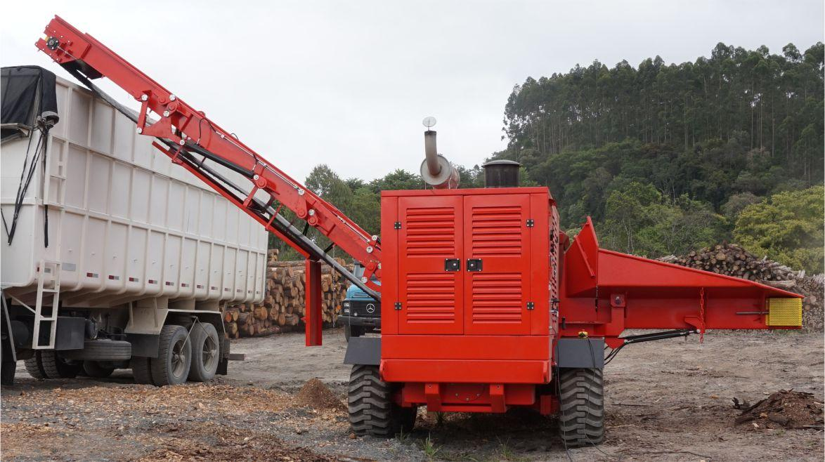 Wood Chipper Sold to Colombia