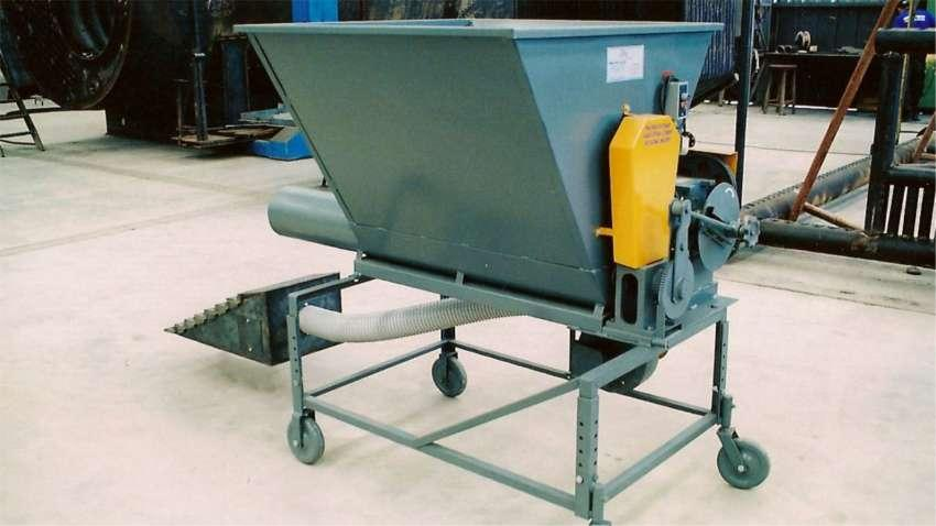Alimentador de Hornos para Quema de Residuos de Biomasa QL 03