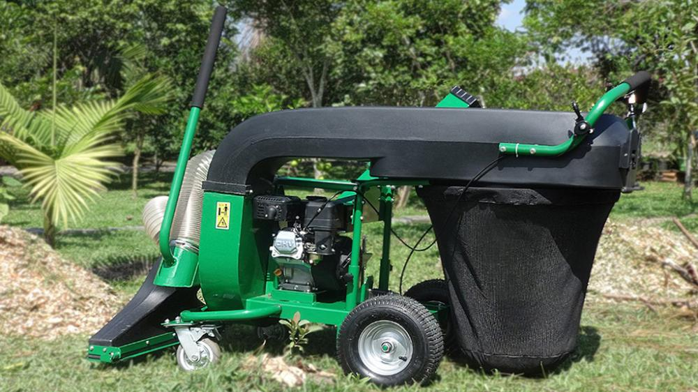 ATF 50 Cleaner is a powerful vacuum and leaf shredder for cleaning and is considered ideal for streets, courtyards and gardens.