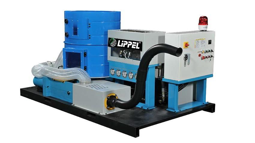 Ideal para produções menores e limpeza de empresas que geram quantidades menores de resíduo. Fabricação de briquetes com 76 mm de diâmetro.