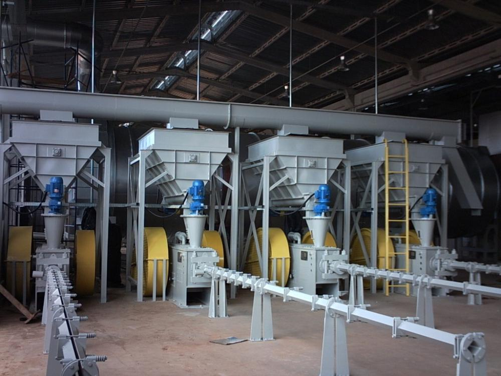 Mechanical Piston Briquette Machine BL 105x240