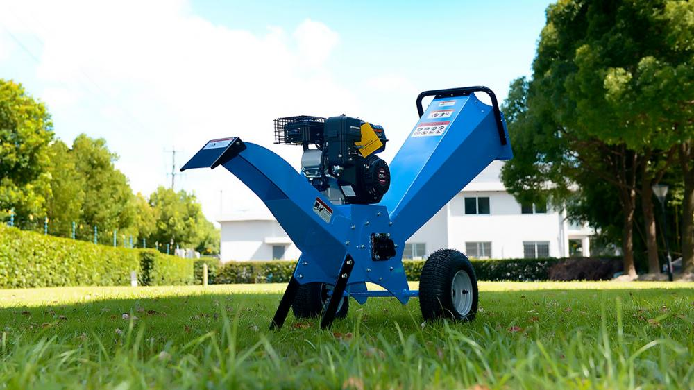 High-performance equipment to clean gardens