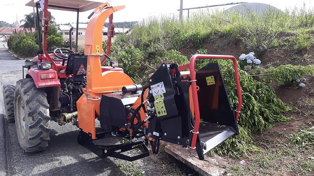 Tanque hidráulico para mayor eficiencia del equipo con menor potencia requerida del tractor