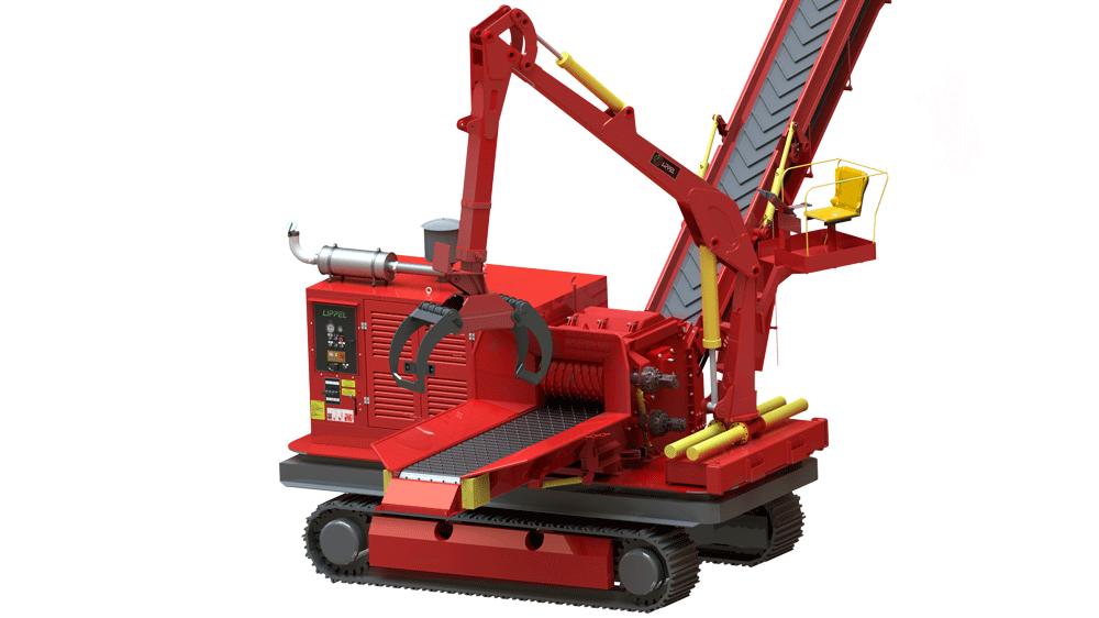 Un nuevo concepto para satisfacer sus necesidades, con diámetro de corte de 600 mm y un motor de 410 CV.