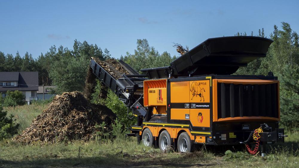 Equipos de procesamiento de residuos de alta capacidad
